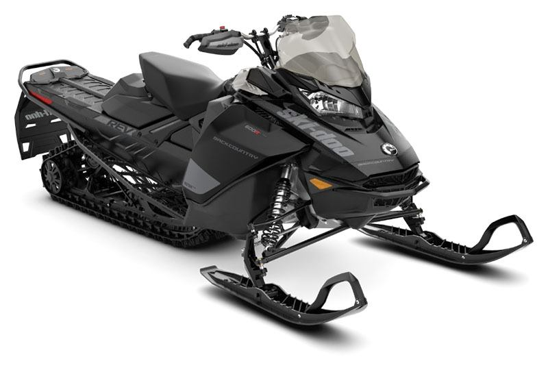 2020 Ski-Doo Backcountry 600R E-TEC ES in Clinton Township, Michigan - Photo 1