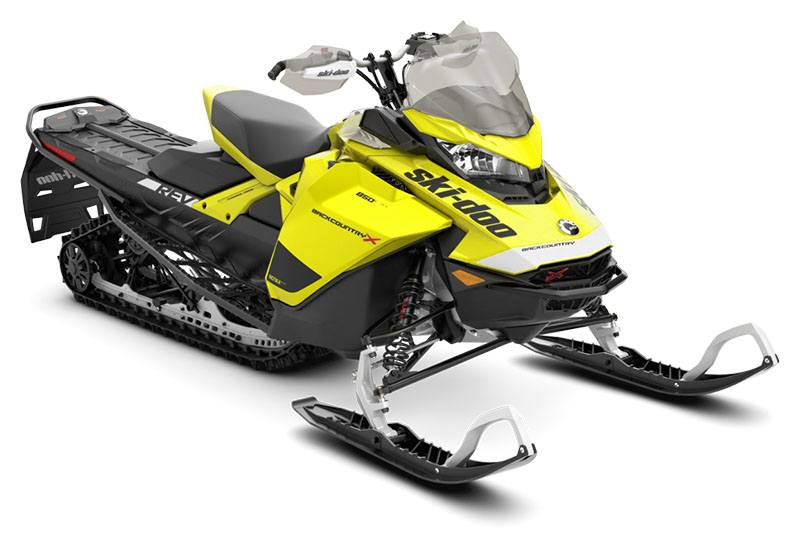 2020 Ski-Doo Backcountry X 850 E-TEC ES PowderMax 2.0 in Colebrook, New Hampshire