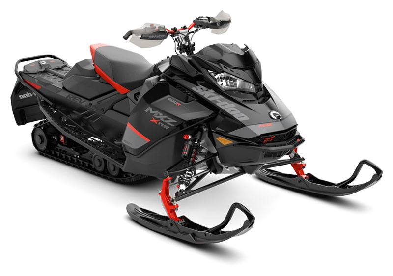 2020 Ski-Doo MXZ X-RS 600R E-TEC ES Ice Ripper XT 1.25 in Augusta, Maine - Photo 1