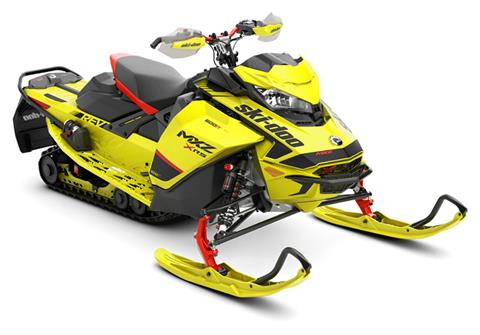 2020 Ski-Doo MXZ X-RS 600R E-TEC ES QAS Ice Ripper XT 1.25 in Presque Isle, Maine