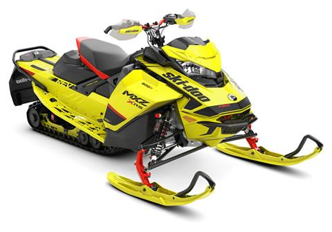 2020 Ski-Doo MXZ X-RS 600R E-TEC ES Adj. Pkg. Ice Ripper XT 1.25 in Colebrook, New Hampshire