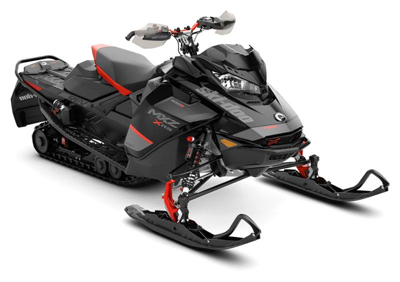 2020 Ski-Doo MXZ X-RS 600R E-TEC ES Adj. Pkg. Ice Ripper XT 1.5 in Presque Isle, Maine - Photo 1