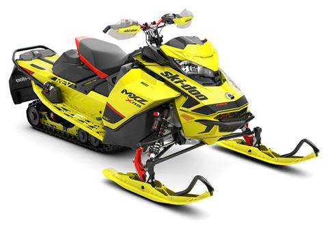 2020 Ski-Doo MXZ X-RS 850 E-TEC ES Adj. Pkg. Ice Ripper XT 1.25 in Colebrook, New Hampshire