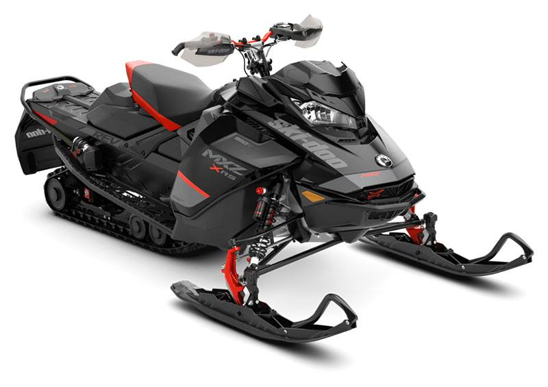 2020 Ski-Doo MXZ X-RS 850 E-TEC ES Adj. Pkg. Ice Ripper XT 1.5 in Derby, Vermont - Photo 1