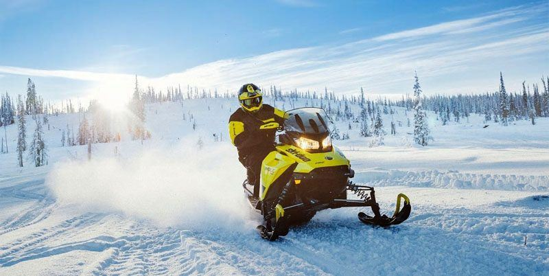 2020 Ski-Doo MXZ X 600R E-TEC ES Adj. Pkg. Ice Ripper XT 1.25 in Augusta, Maine - Photo 5
