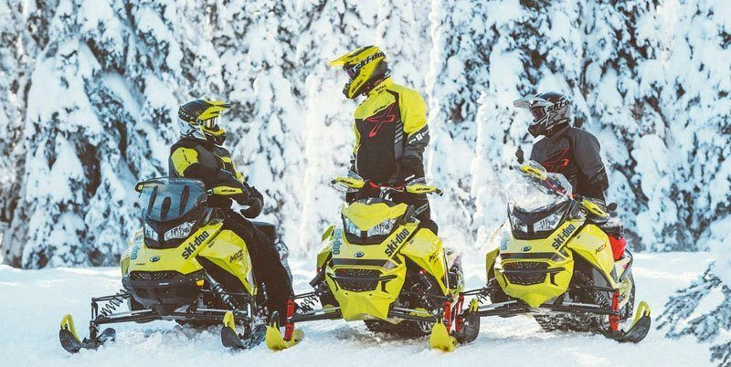 2020 Ski-Doo MXZ X 600R E-TEC ES Adj. Pkg. Ice Ripper XT 1.25 in Moses Lake, Washington - Photo 7