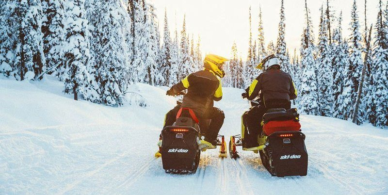 2020 Ski-Doo MXZ X 600R E-TEC ES Adj. Pkg. Ice Ripper XT 1.25 in Butte, Montana - Photo 8