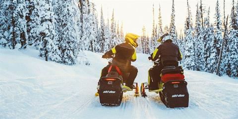2020 Ski-Doo MXZ X 600R E-TEC ES Adj. Pkg. Ice Ripper XT 1.5 in Presque Isle, Maine - Photo 8