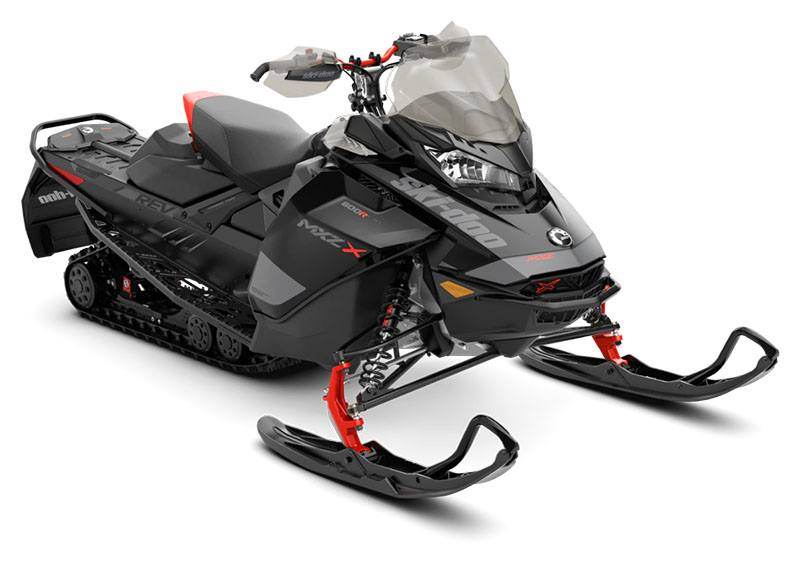 2020 Ski-Doo MXZ X 600R E-TEC ES Ice Ripper XT 1.25 in Clinton Township, Michigan - Photo 1