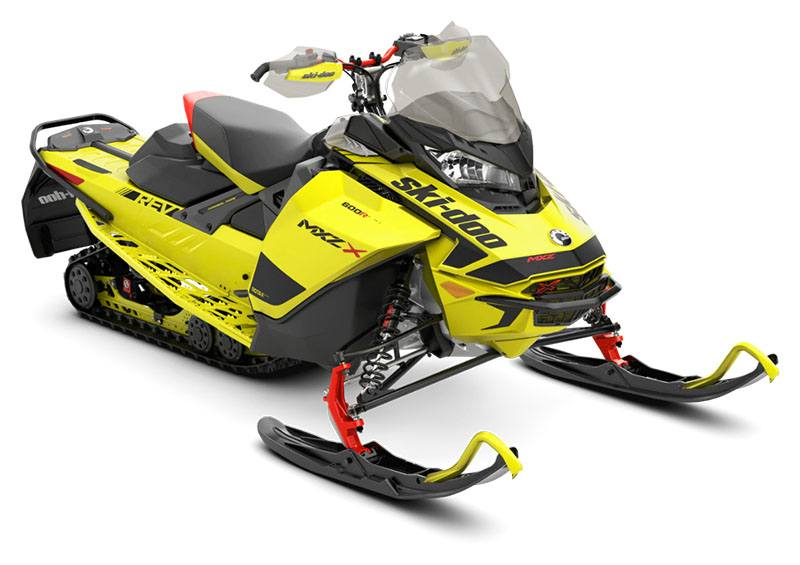 2020 Ski-Doo MXZ X 600R E-TEC ES Ice Ripper XT 1.25 in Cohoes, New York - Photo 1