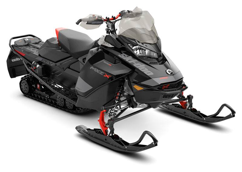2020 Ski-Doo MXZ X 600R E-TEC ES Adj. Pkg. Ice Ripper XT 1.25 in Clinton Township, Michigan - Photo 1