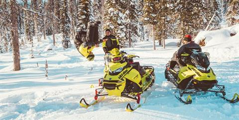 2020 Ski-Doo MXZ X 850 E-TEC ES Adj. Pkg. Ice Ripper XT 1.25 in Colebrook, New Hampshire
