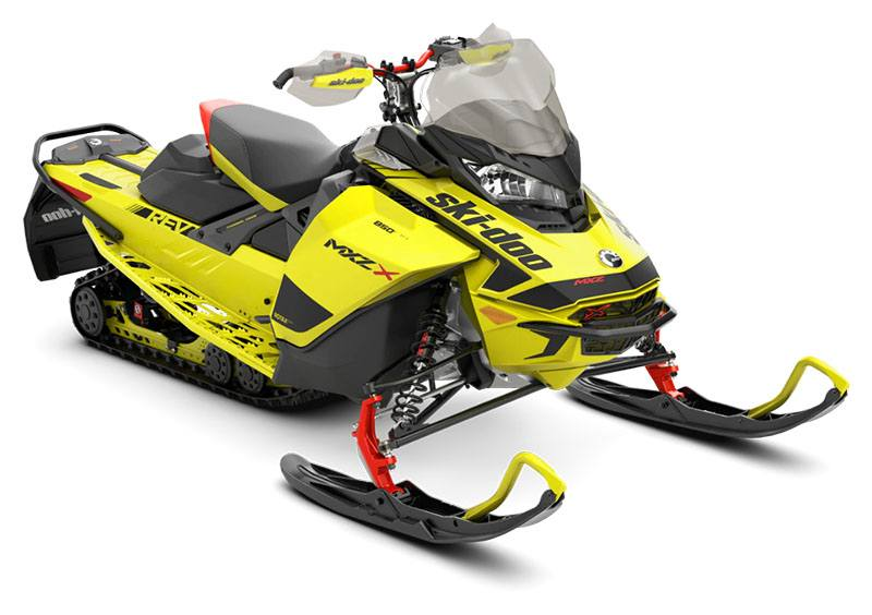 2020 Ski-Doo MXZ X 850 E-TEC ES Ice Ripper XT 1.25 in Augusta, Maine - Photo 1