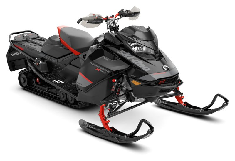 2020 Ski-Doo Renegade X-RS 850 E-TEC ES QAS Only Ice Ripper XT 1.25 REV Gen4 (Narrow) in Clinton Township, Michigan