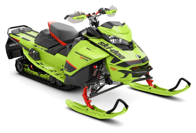 2020 Ski-Doo Renegade X-RS 850 E-TEC ES QAS Only Ice Ripper XT 1.25 REV Gen4 (Narrow) in Dickinson, North Dakota - Photo 1