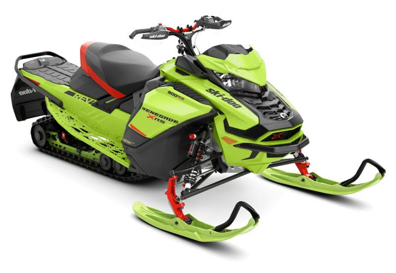 2020 Ski-Doo Renegade X-RS 900 Ace Turbo ES Ice Ripper XT 1.25 REV Gen4 (Wide) in Colebrook, New Hampshire - Photo 1