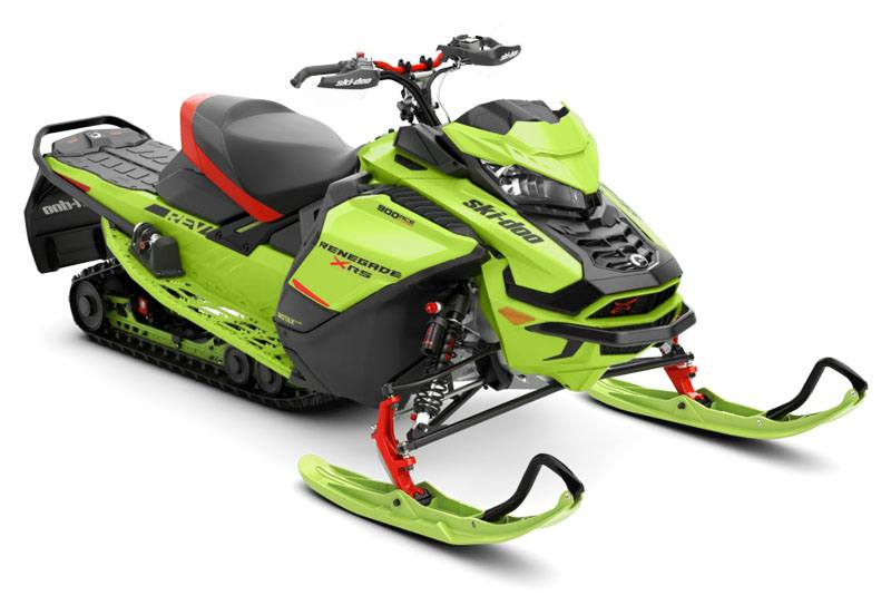 2020 Ski-Doo Renegade X-RS 900 Ace Turbo ES QAS Only Ice Ripper XT 1.25 REV Gen4 (Wide) in Erda, Utah