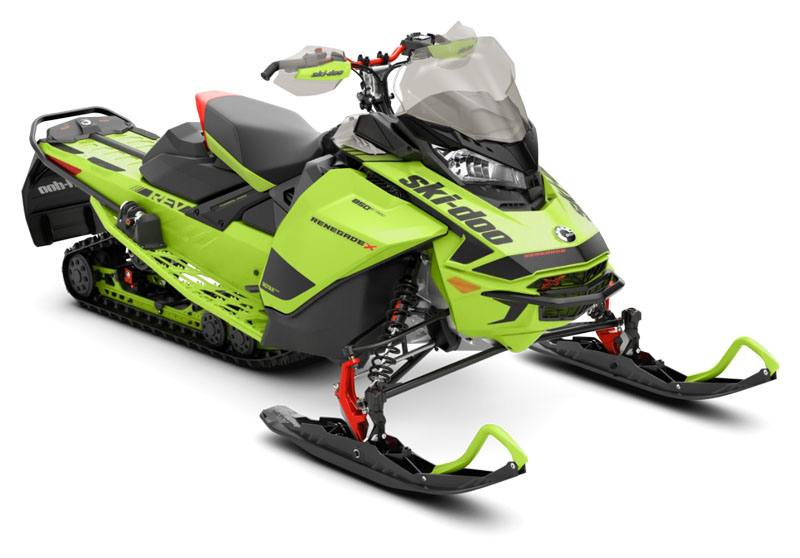 2020 Ski-Doo Renegade X 600R E-TEC ES Adj. Pkg. Ice Ripper XT 1.25 REV Gen4 (Narrow) in Sully, Iowa - Photo 1