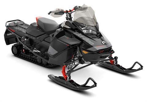 2020 Ski-Doo Renegade X 600R E-TEC ES Adj. Pkg. Ice Ripper XT 1.5 REV Gen4 (Narrow) in Woodruff, Wisconsin