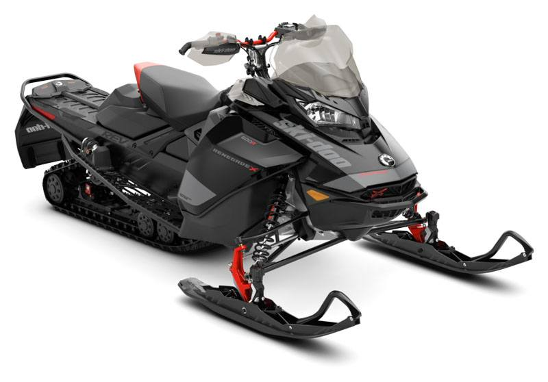 2020 Ski-Doo Renegade X 600R E-TEC ES Adj. Pkg. Ice Ripper XT 1.5 REV Gen4 (Narrow) in Augusta, Maine