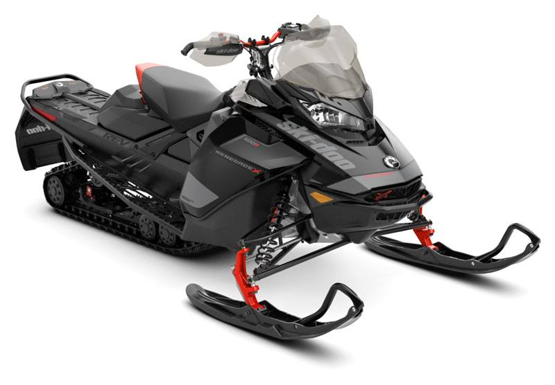 2020 Ski-Doo Renegade X 600R E-TEC ES Ice Ripper XT 1.25 REV Gen4 (Narrow) in Colebrook, New Hampshire