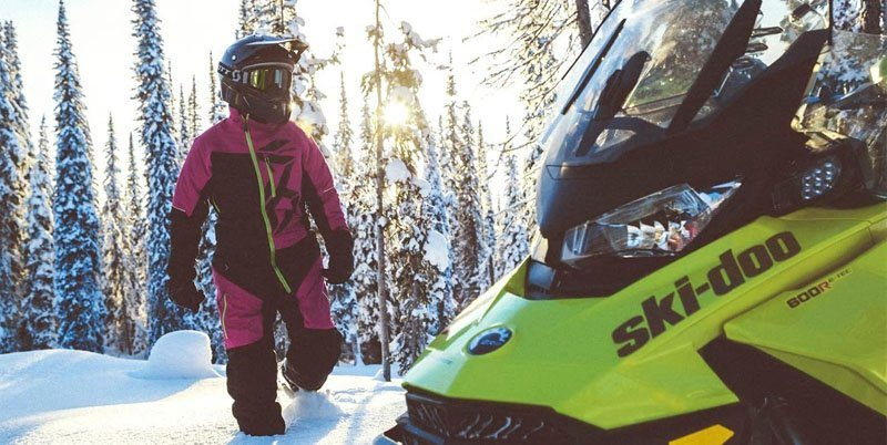 2020 Ski-Doo Renegade X 600R E-TEC ES Ice Ripper XT 1.25 REV Gen4 (Narrow) in Augusta, Maine - Photo 4