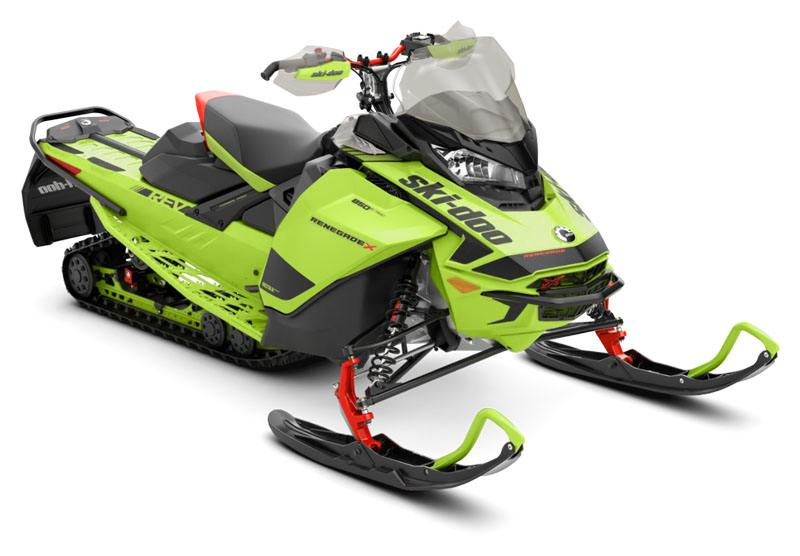 2020 Ski-Doo Renegade X 850 E-TEC ES Ice Ripper XT 1.25 REV Gen4 (Narrow) in Massapequa, New York