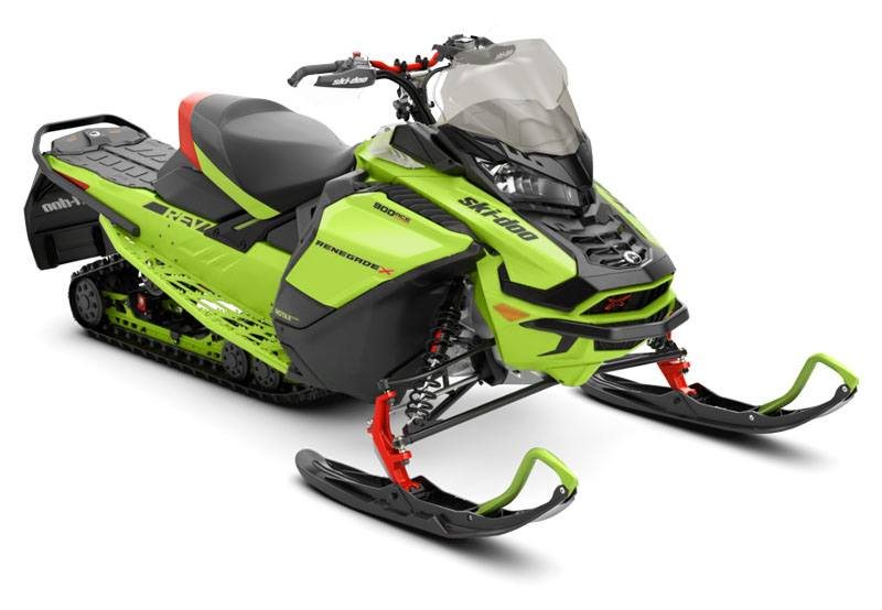 2020 Ski-Doo Renegade X 900 Ace Turbo ES Ice Ripper XT 1.25 REV Gen4 (Wide) in Evanston, Wyoming