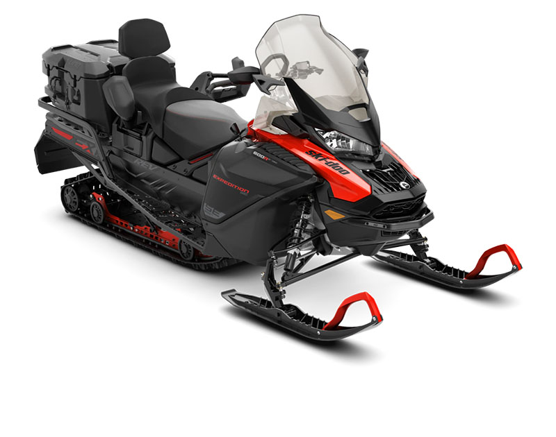 2020 Ski-Doo Expedition SE 154 600R E-TEC ES w/ Silent Ice Cobra WT 1.5 in Omaha, Nebraska - Photo 1