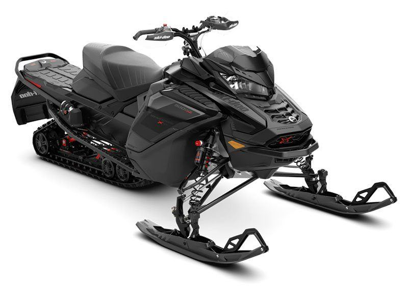 2021 Ski-Doo Renegade X-RS 900 ACE Turbo ES w/ Adj. Pkg, RipSaw 1.25 w/ Premium Color Display in Evanston, Wyoming