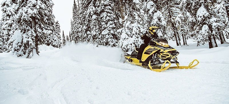 2021 Ski-Doo Renegade X-RS 900 ACE Turbo ES w/ QAS, Ice Ripper XT 1.25 in Speculator, New York - Photo 5