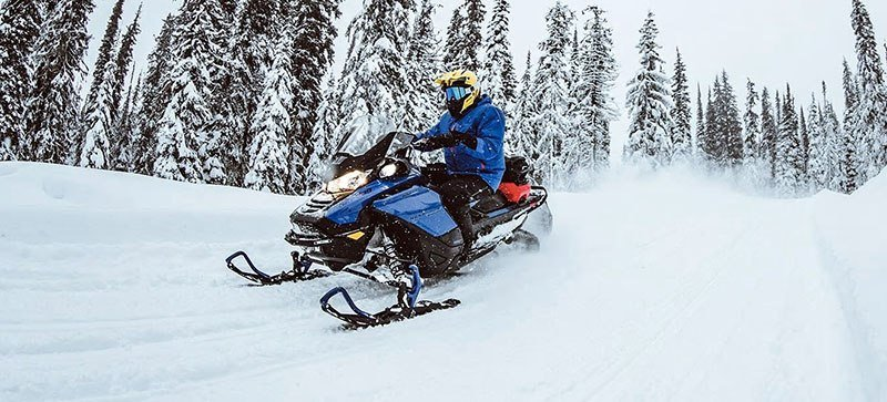 2021 Ski-Doo Renegade X-RS 900 ACE Turbo ES w/ QAS, RipSaw 1.25 in Wasilla, Alaska - Photo 17