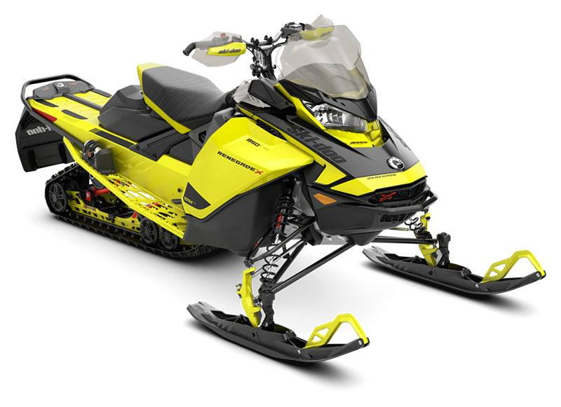 2021 Ski-Doo Renegade X 850 E-TEC ES w/ Adj. Pkg, Ice Ripper XT 1.25 w/ Premium Color Display in Barre, Massachusetts