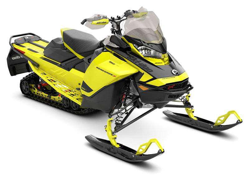 2021 Ski-Doo Renegade X 850 E-TEC ES RipSaw 1.25 w/ Premium Color Display in Honesdale, Pennsylvania