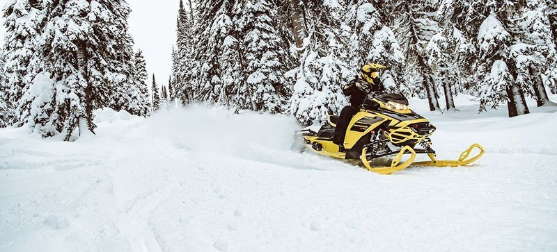 2021 Ski-Doo Renegade X 850 E-TEC ES RipSaw 1.25 w/ Premium Color Display in Hillman, Michigan - Photo 5