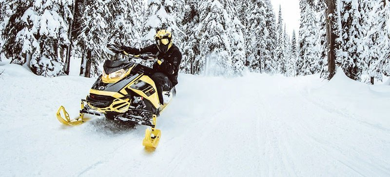 2021 Ski-Doo Renegade X 850 E-TEC ES RipSaw 1.25 w/ Premium Color Display in Hillman, Michigan - Photo 10
