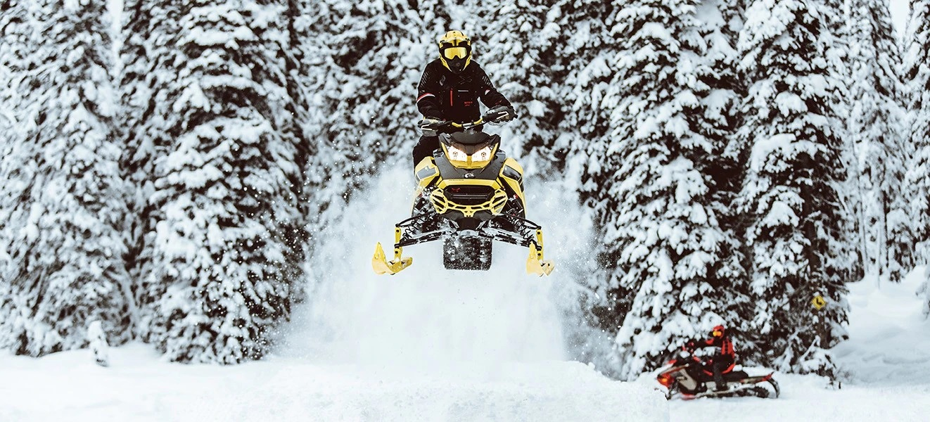 2021 Ski-Doo Renegade X 850 E-TEC ES w/ Adj. Pkg, Ice Ripper XT 1.25 w/ Premium Color Display in Eugene, Oregon - Photo 7