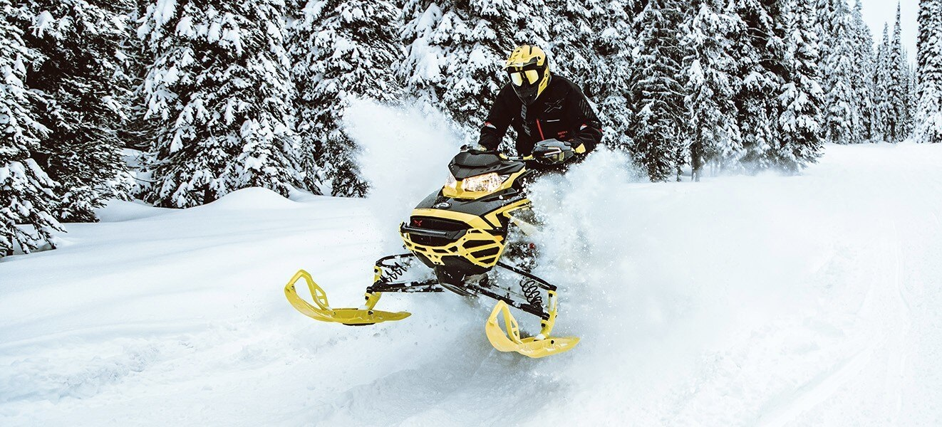 2021 Ski-Doo Renegade X 850 E-TEC ES w/ Adj. Pkg, Ice Ripper XT 1.25 w/ Premium Color Display in Hudson Falls, New York - Photo 8