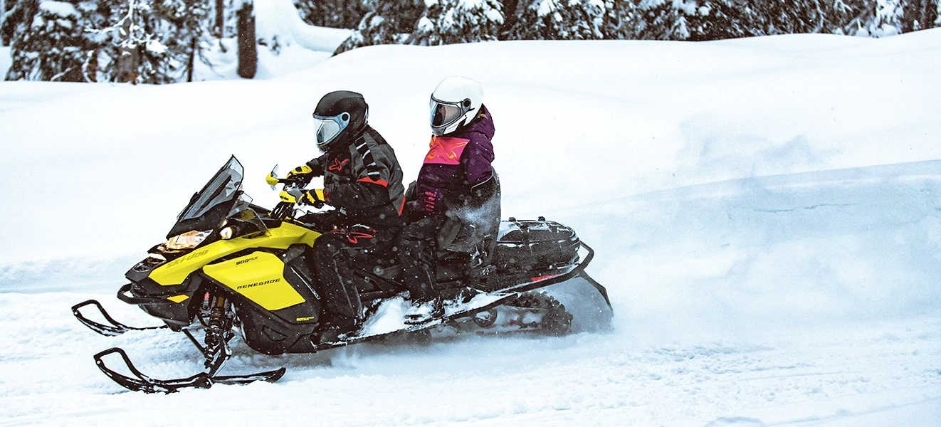 2021 Ski-Doo Renegade X 850 E-TEC ES w/ Adj. Pkg, Ice Ripper XT 1.25 w/ Premium Color Display in Sacramento, California - Photo 9