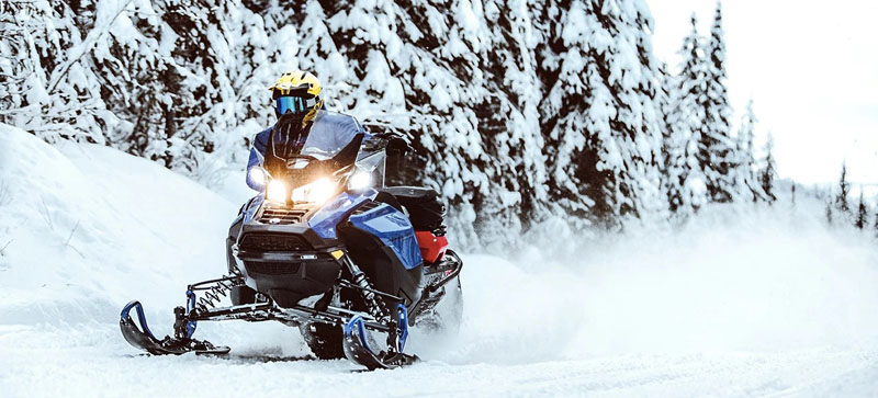 2021 Ski-Doo Renegade X 850 E-TEC ES w/ Adj. Pkg, Ice Ripper XT 1.5 w/ Premium Color Display in Sacramento, California - Photo 4
