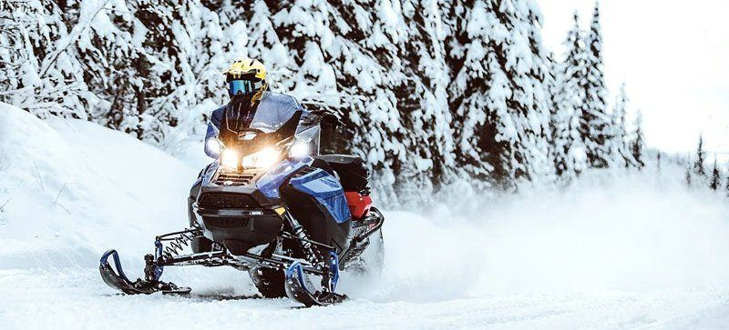 2021 Ski-Doo Renegade X 850 E-TEC ES w/ Adj. Pkg, RipSaw 1.25 w/ Premium Color Display in Speculator, New York - Photo 4