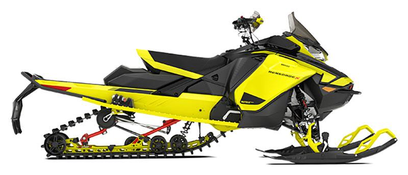 2021 Ski-Doo Renegade X 850 E-TEC ES w/ Adj. Pkg, RipSaw 1.25 w/ Premium Color Display in Hillman, Michigan - Photo 2