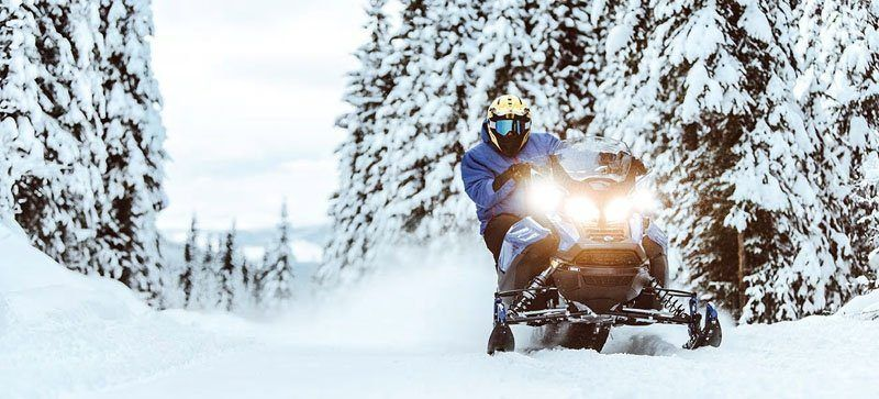 2021 Ski-Doo Renegade X 850 E-TEC ES w/ Adj. Pkg, RipSaw 1.25 w/ Premium Color Display in Hillman, Michigan - Photo 3