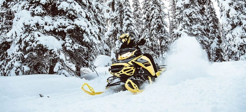 2021 Ski-Doo Renegade X 850 E-TEC ES w/ Adj. Pkg, RipSaw 1.25 w/ Premium Color Display in Hillman, Michigan - Photo 7