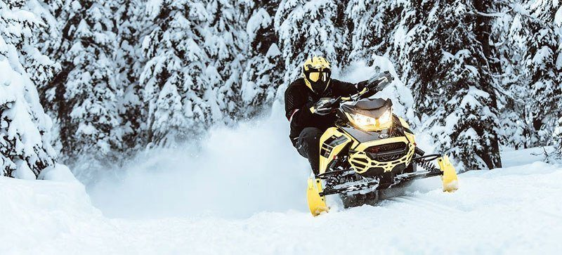 2021 Ski-Doo Renegade X 850 E-TEC ES w/ Adj. Pkg, RipSaw 1.25 w/ Premium Color Display in Hillman, Michigan - Photo 9