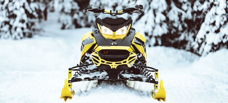 2021 Ski-Doo Renegade X 850 E-TEC ES w/ Adj. Pkg, RipSaw 1.25 w/ Premium Color Display in Hillman, Michigan - Photo 14