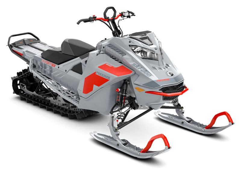 2021 Ski-Doo Freeride 146 850 E-TEC ES PowderMax FlexEdge 2.5 in Montrose, Pennsylvania - Photo 1