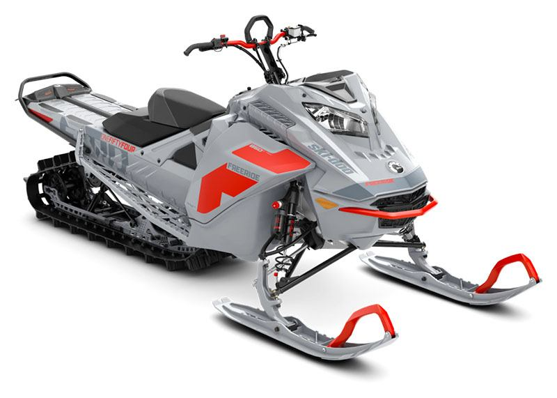 2021 Ski-Doo Freeride 154 850 E-TEC ES PowderMax Light FlexEdge 2.5 LAC in Honeyville, Utah