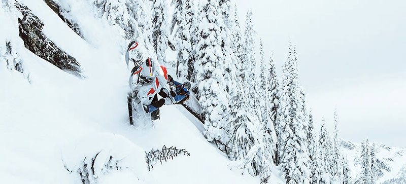 2021 Ski-Doo Freeride 154 850 E-TEC ES PowderMax Light FlexEdge 3.0 LAC in Pocatello, Idaho - Photo 9