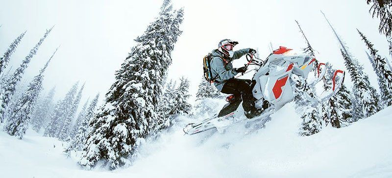 2021 Ski-Doo Freeride 154 850 E-TEC ES PowderMax Light FlexEdge 2.5 LAC in Hillman, Michigan - Photo 4